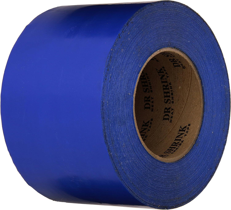 "Boat Shrink Wrap Tape 4 Inch 4/"" X 180/' Blue Shrink Wrap Tape Heat Shrink Tape"