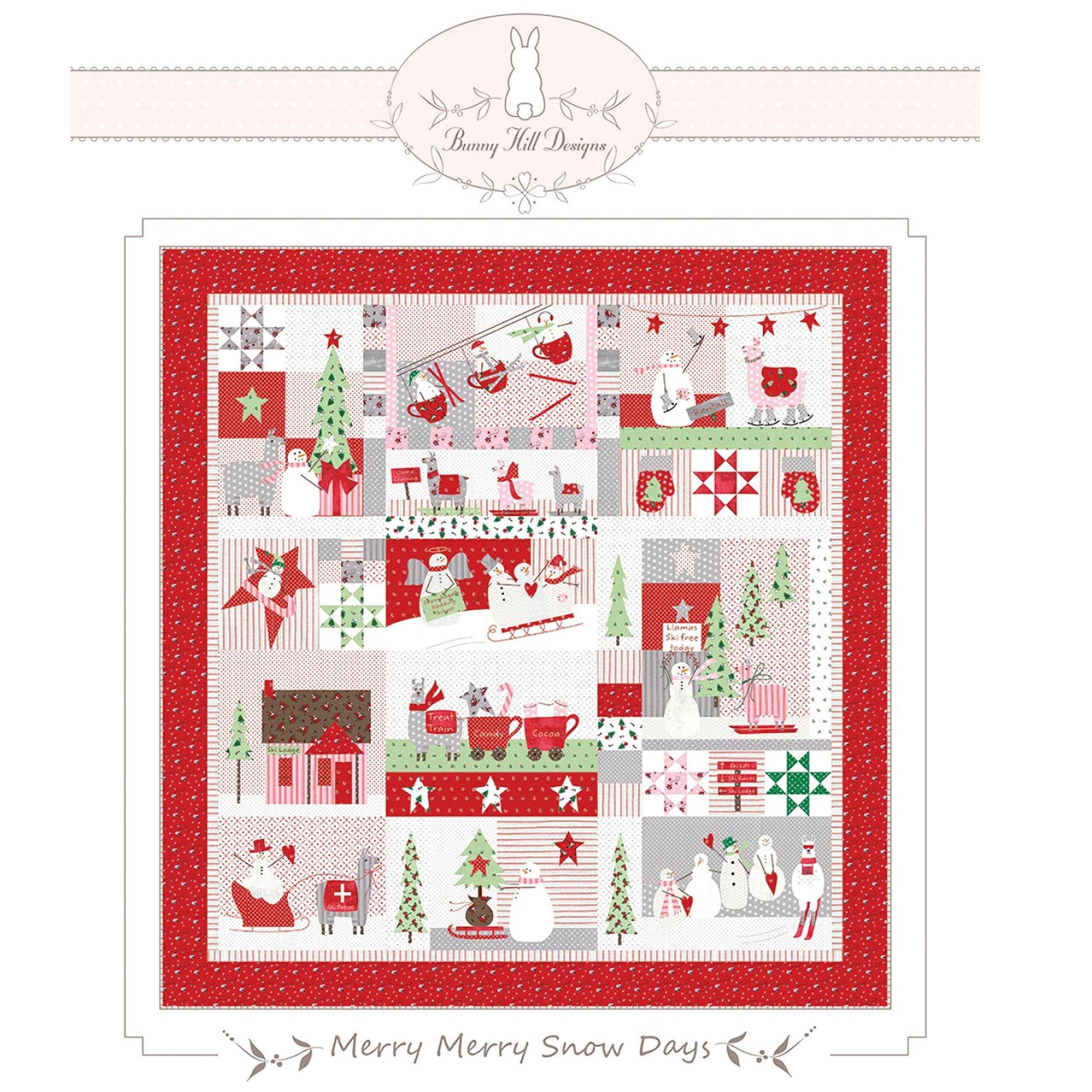 Merry Merry Snow Days Quilt Pattern by Bunny Hill Designs by Bunny Hill Designs