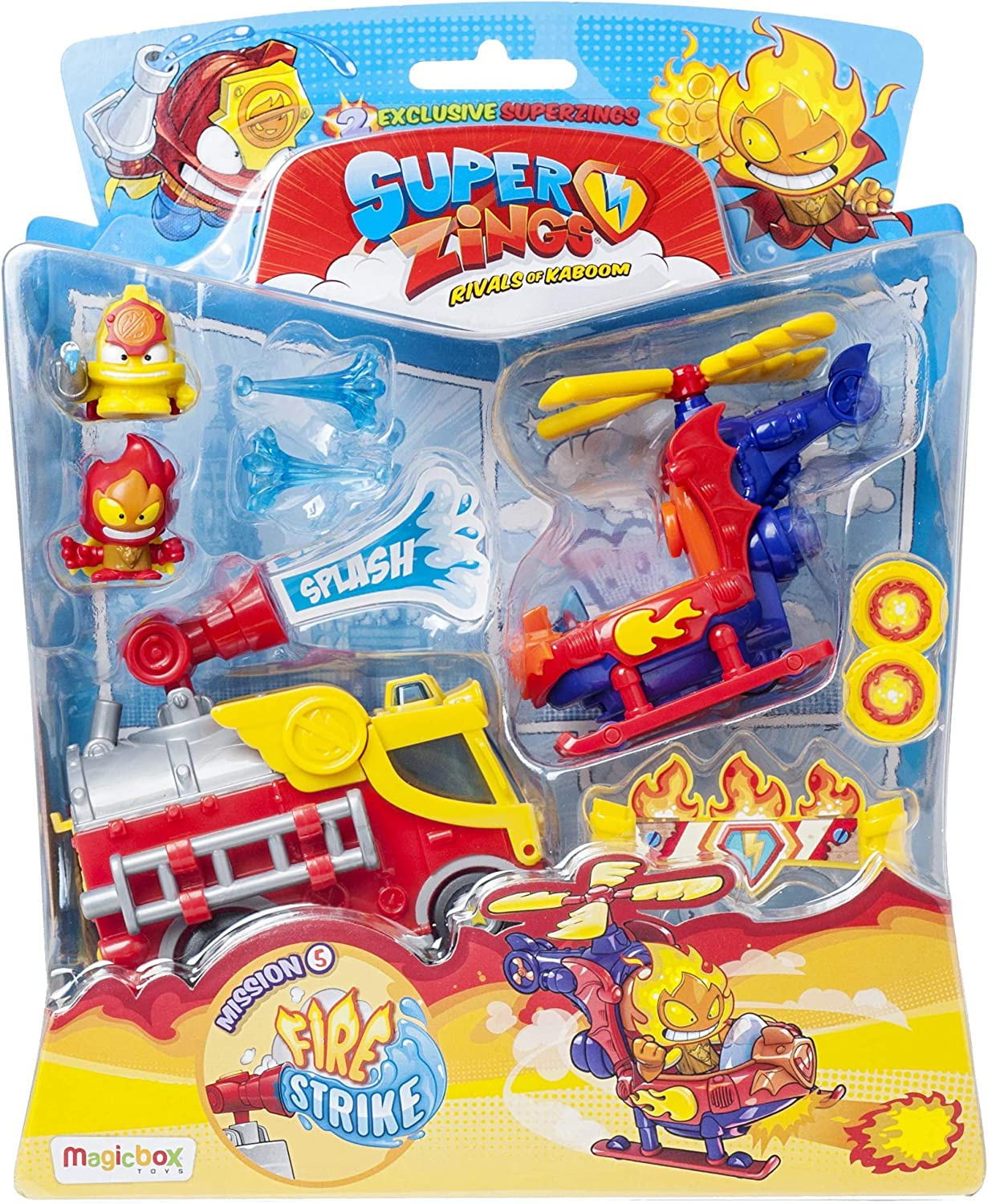 SuperZings- Blister Mission Vehículos y figuras coleccionables, Multicolor (Magic Box PSZSB216IN50): Amazon.es: Juguetes y juegos