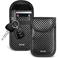 Olixar Keyless Car Key Signal Blocker Pouch - Anti Theft Faraday Pouch That Stops Thieves and Prevents Car Theft by…