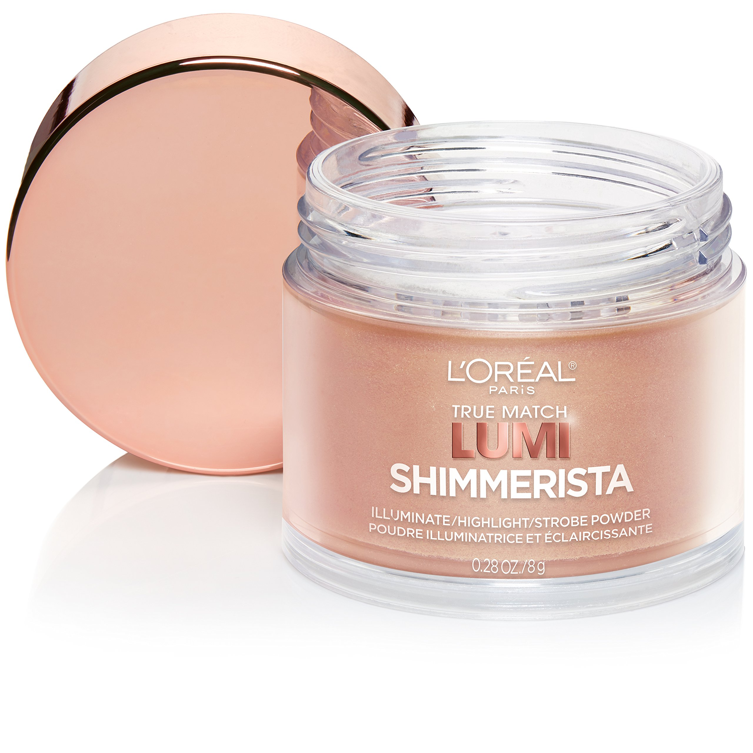 L'Oreal Paris Makeup True Match Lumi Shimmerista Loose Highlighting Powder, Sunlight, 0.28 oz.