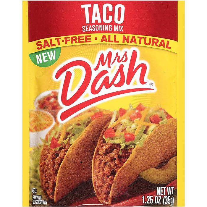 The Best Mrs Dash Salt Free Taco Seasoning