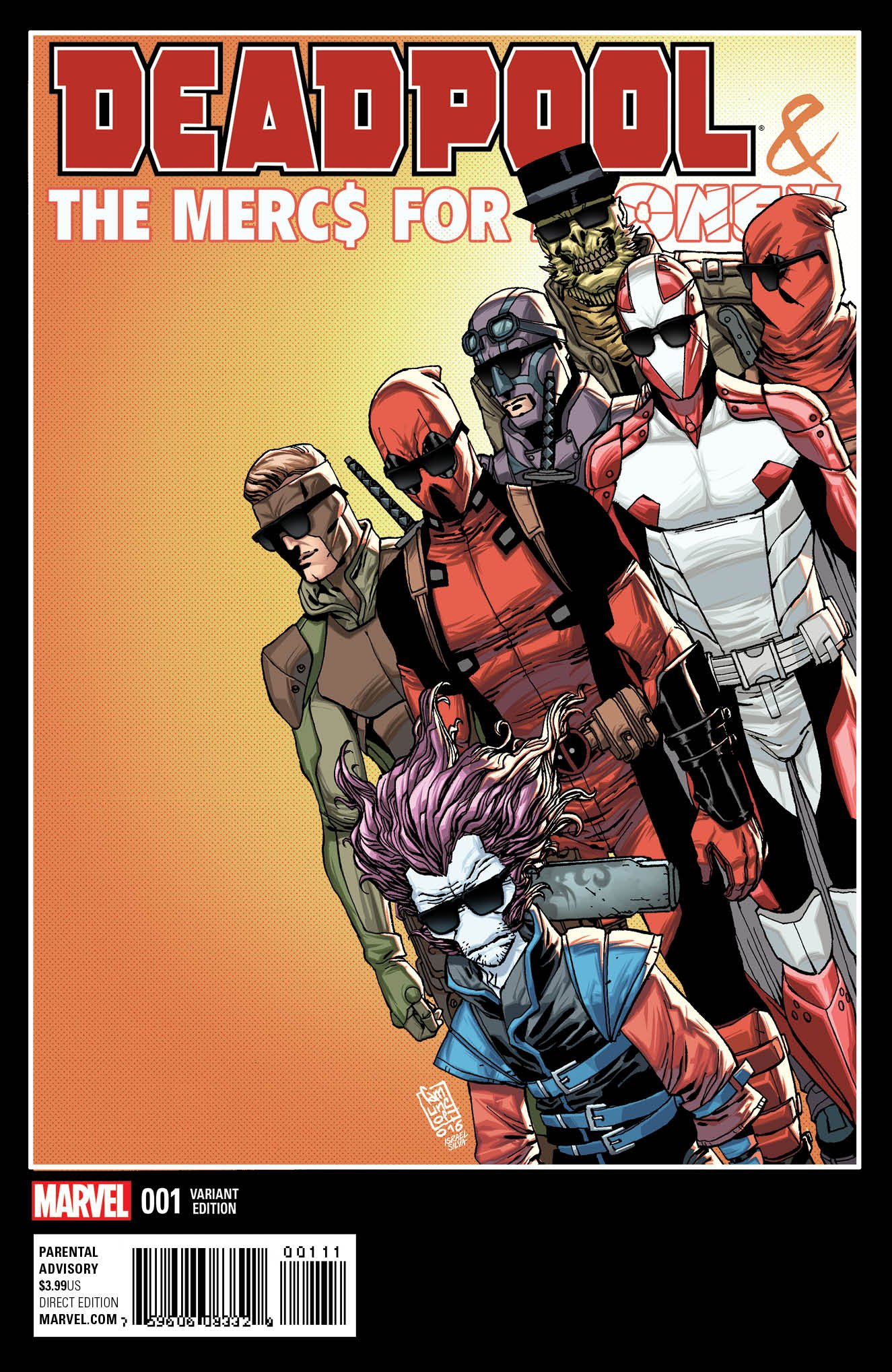 Download Deadpool & the Mercs for Money Vol II #1B Variant cover by Giuseppe Camuncoli pdf
