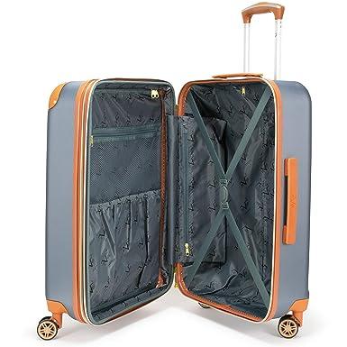 a3d98818a Amazon.com | 19V69 Italia Vintage Expandable Hard Spinner Luggage 3 Piece  Set (Grigio Gray) (Grigio Gray) | Luggage Sets