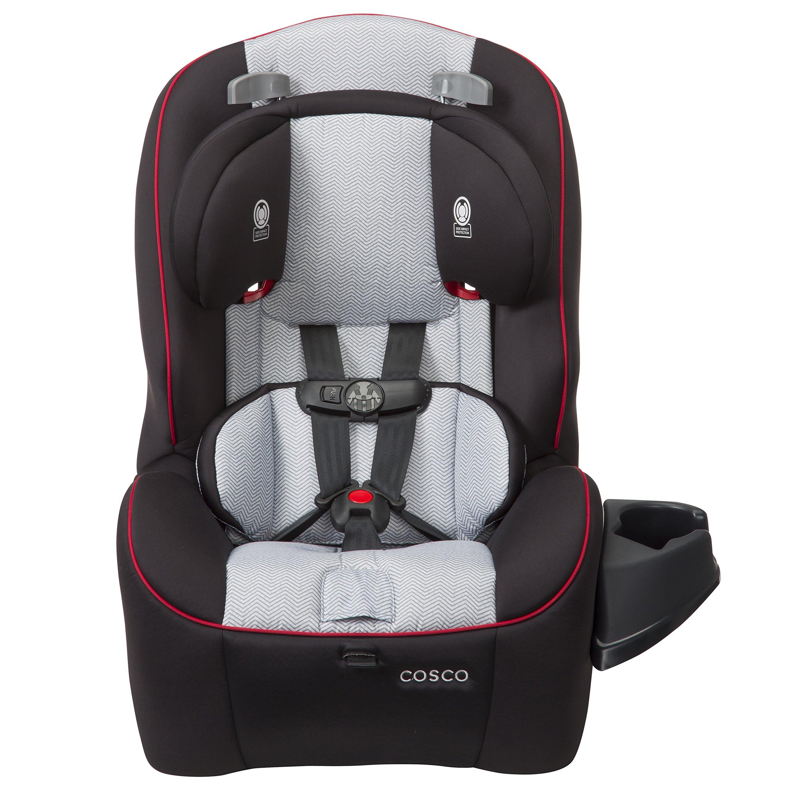 Cosco Easy Elite 3-in-1 Convertible Car Seat, Wallstreet Grey