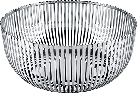 shopping utterly stylish sale Alessi Fruit Holder in 18/10 Stainless Steel Mirror Polished, Silver
