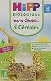 Hipp Biologique 5 Céréales dès 8 mois - 6 boîtes de 250 g