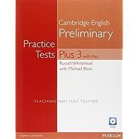 Practice tests. Plus PET. With key. Per le Scuole superiori. Con espansione online. Con CD-ROM. Con CD-Audio: Practice Tests Plus PET 3 with Key and Multi-ROM/Audio CD Pack