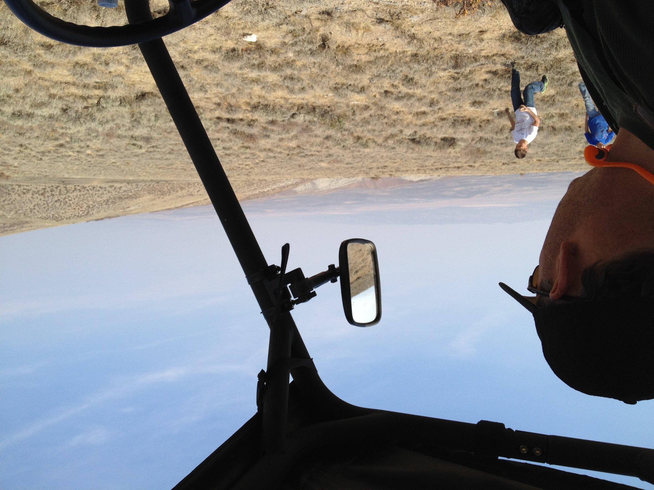 ATV Tek UTV Mirror, Clearview With Vibration Isolator and Breakaway UTVMIR1 One Mirror