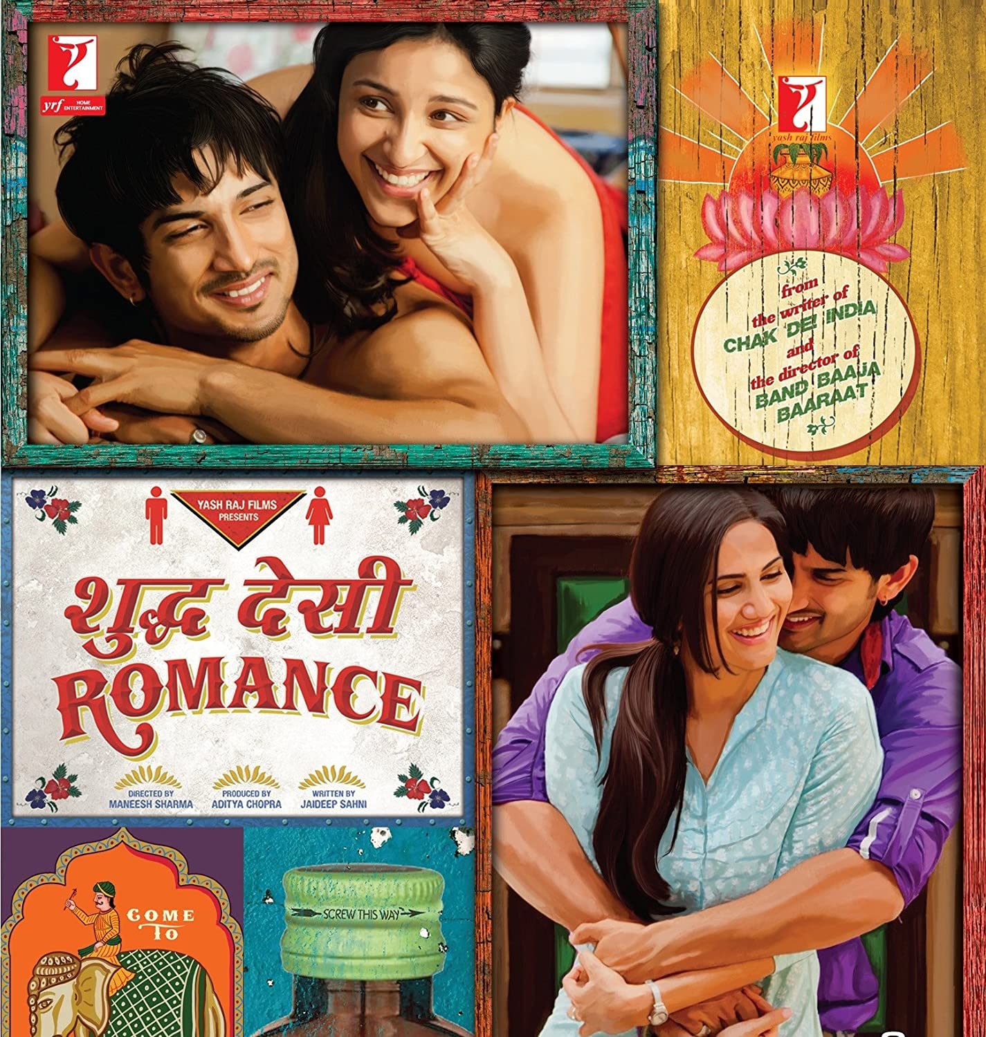 Shuddh Desi Romance (2013) Hindi Movie 1GB Download