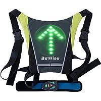chaleco con LED intermitentes 4 señal de circulación