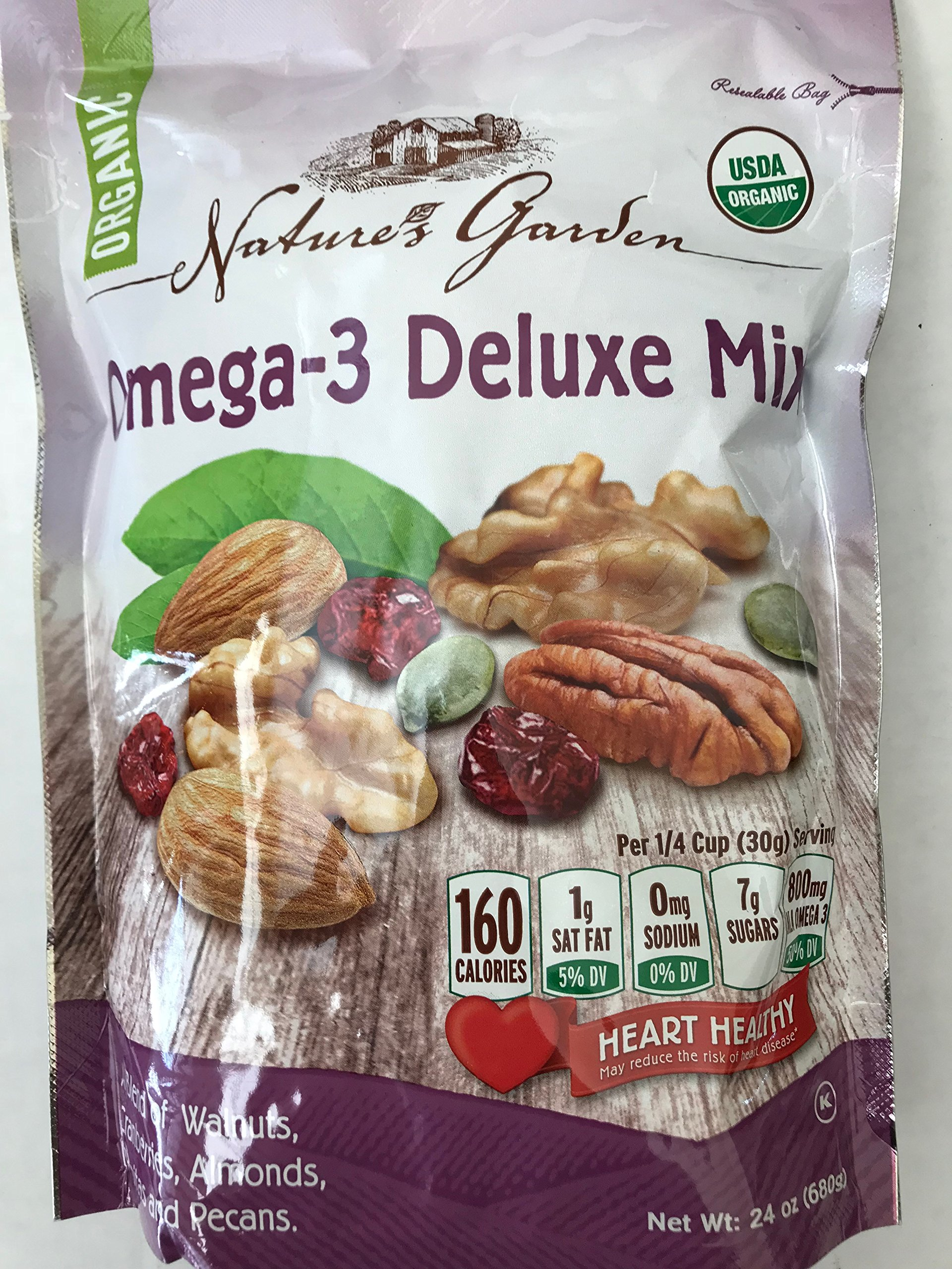 Nature's Garden Omega-3 Delux Mix
