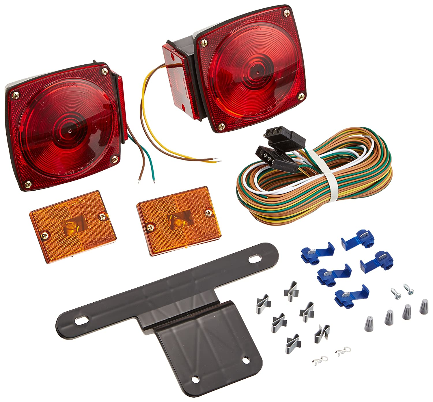 As Well Led Trailer Light Kit On Harbor Freight Wiring Optronics Tl5rk Submersible Combination Tail Sports Outdoors