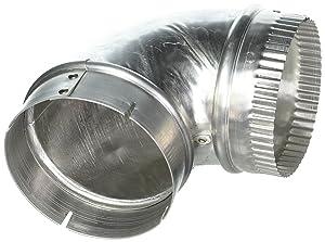 Lambro Industries, Inc. Dryer Vent Close Elbow, 4 inch. Item #2315