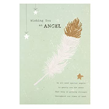 Hallmark Thinking Of You Card For Her Wishing You An Angel