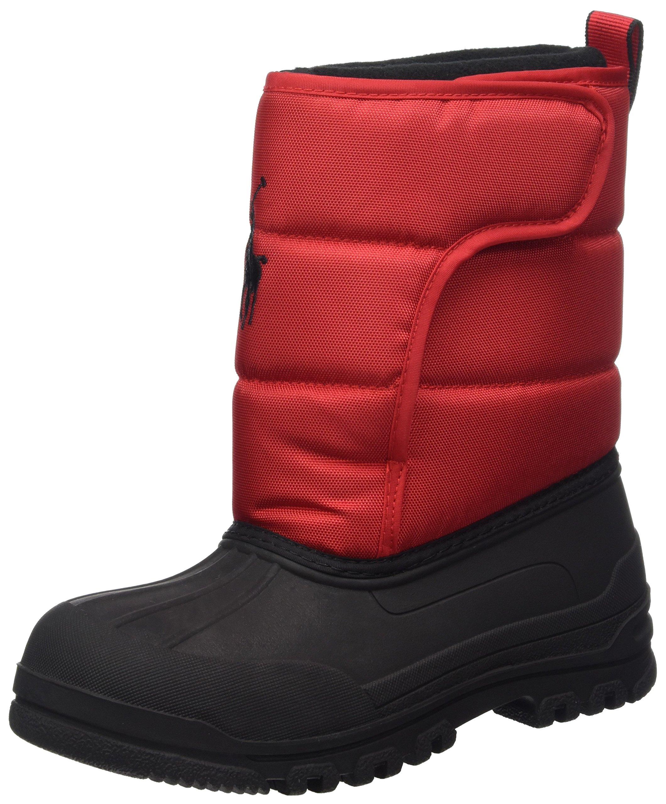 Polo Ralph Lauren Kids 993533 Snow Boot Red 4 M US Big Kid