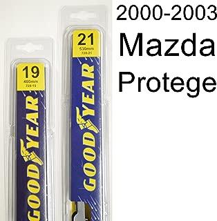 """product image for Mazda Protege (2000-2003) Wiper Blade Kit - Set Includes 21"""" (Driver Side), 19"""" (Passenger Side) (2 Blades Total)"""