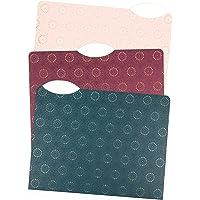 U Brands Fleuri Fashion File Folders, 1/3 Cut, Letter Size, Assorted Colors, 24 Pack