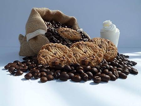 Café con sabor a galletas y crema, Cafetera de émbolo, 100 g ...