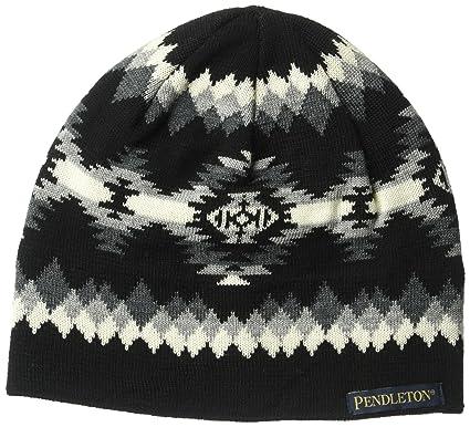 39fdaf21 Pendleton Women's Merino Wool Knit Watch Cap, Papago Park, One Size ...