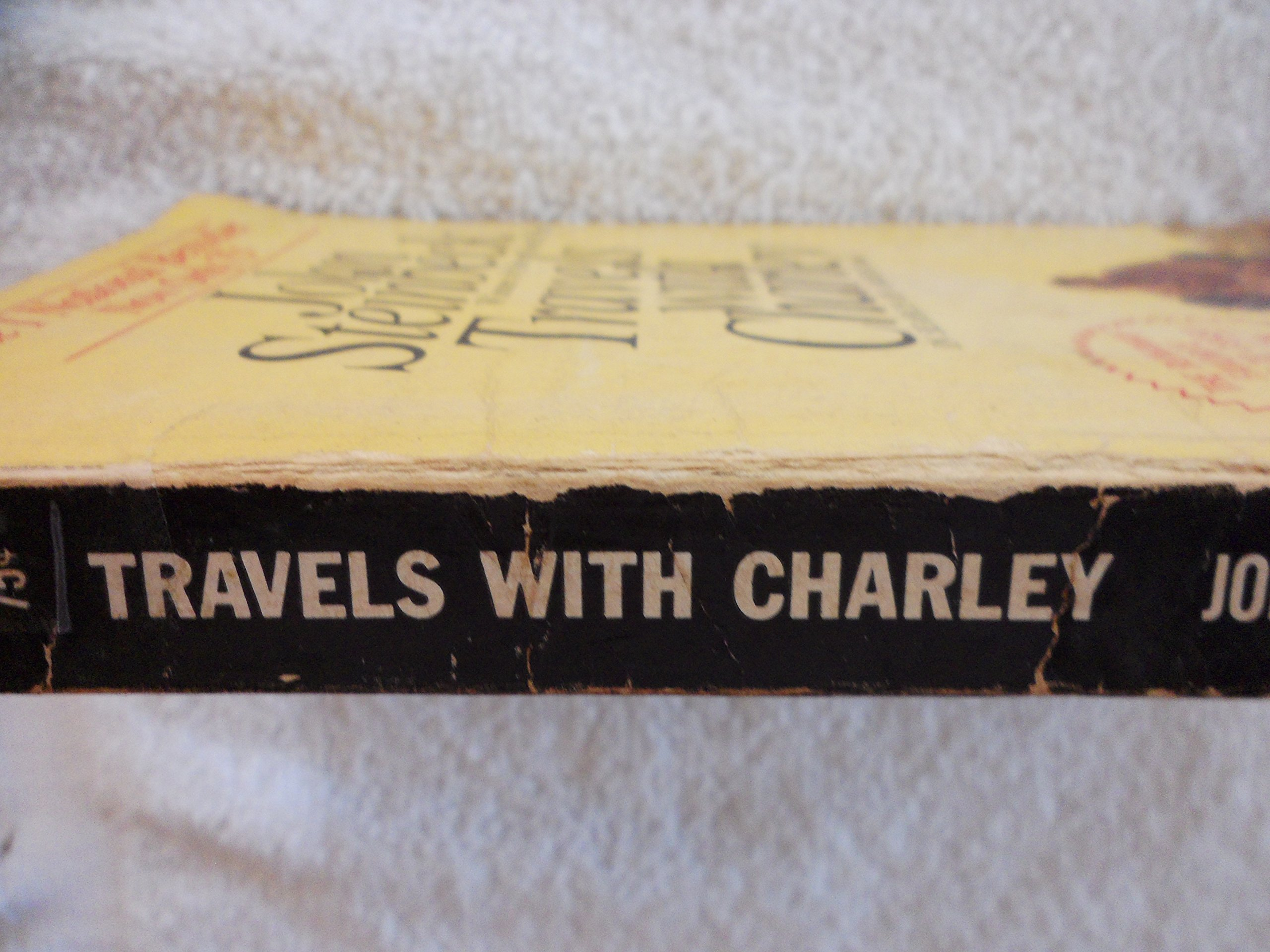 Travels With Charley John Steinbeck Amazon Books