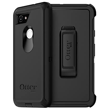 innovative design 8207c 59132 OtterBox DEFENDER SERIES Case for Google Pixel 2 XL - Retail Packaging -  BLACK