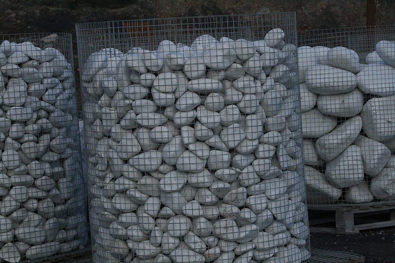 Velestone Canto rodado Blanco Puro (1000 kg, 100-200 mm ...