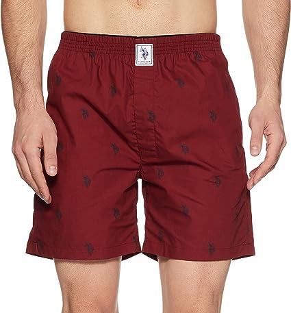 U.S. Polo Assn. Men's Cotton Boxers Men's Boxer Shorts at amazon