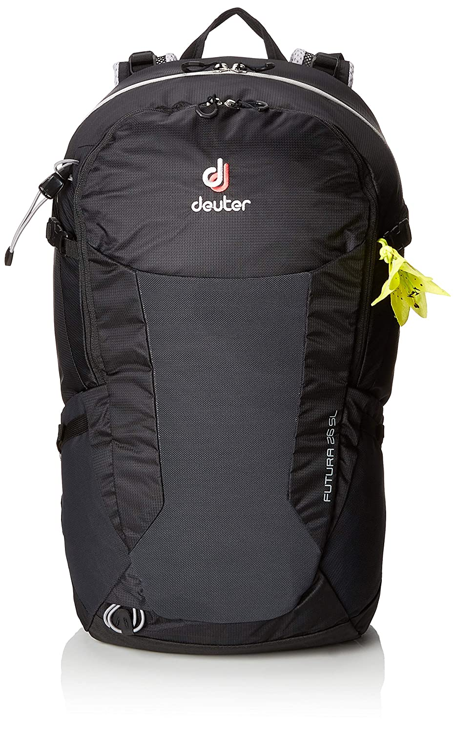 1ced1d4900c Amazon.com : Deuter Futura 26 SL Hiking Backpack with Detachable Rain  Cover, Black : Sports & Outdoors