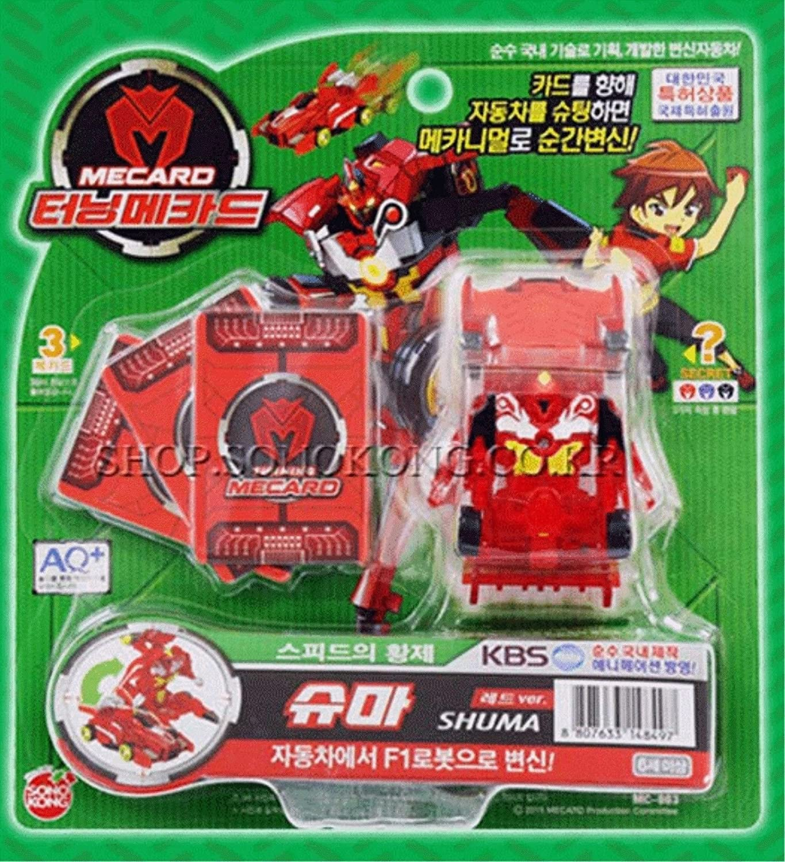 注文割引 TURNING MECARD SHUMA RED Transformer SHUMA CAR Robot/Korea Transformer Animation Model Plastic Model Toy/item# G4W8B-48Q24325 B01H0MFK3M, FLORA:ef4e848c --- village-aste.fr