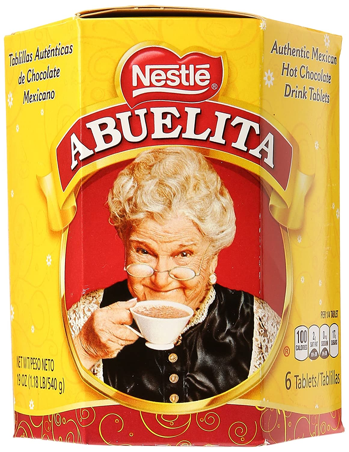 Amazon.com : Abuelita Mexican Chocolate Tablets, 19 oz : Hot Cocoa ...