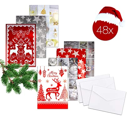 48 X Tarjetas de regalo tarjeta regalo tarjeta tarjeta de ...