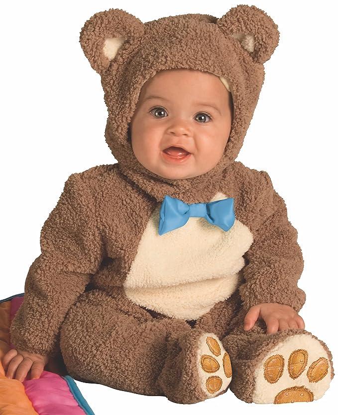 Rubies - Disfraz de Oso para niños, osito talla bebé 1-2 años (Rubies 885356-T): Amazon.es: Juguetes y juegos