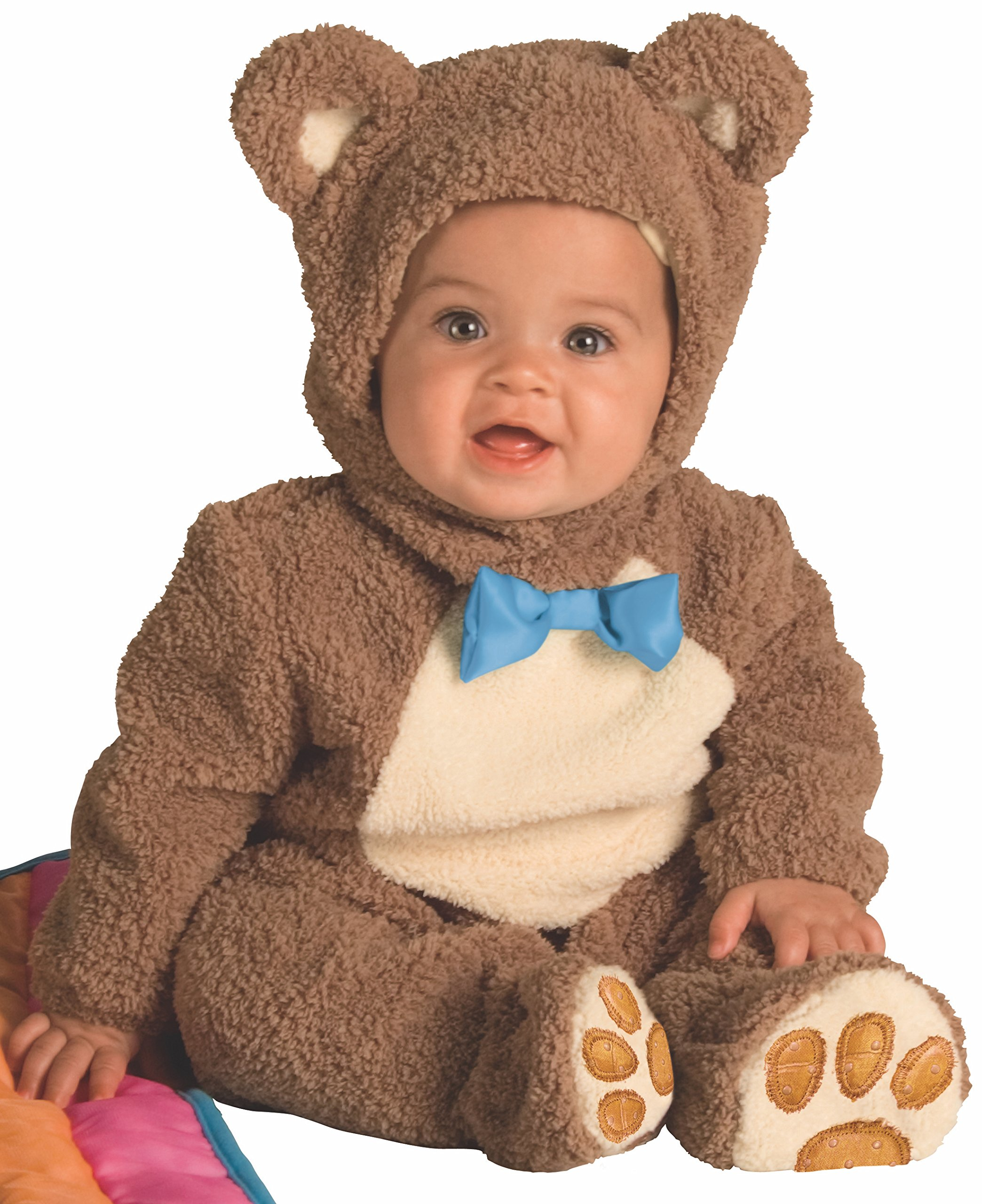 Rubie's Infant Noah Ark Collection Oatmeal Bear Jumpsuit, Brown/Beige, 12-18 Months