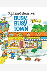 Richard Scarry's Busy, Busy Town (Golden Look-look Book) Hardcover