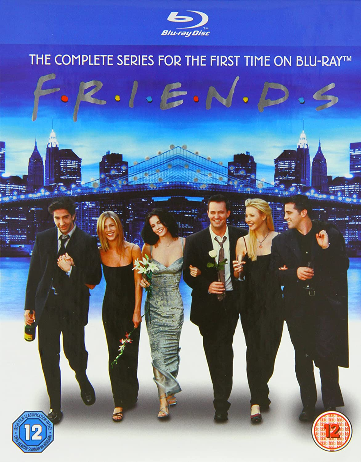 Friends: The Complete Series [Blu-ray] [2002] [1994] [Region Free]