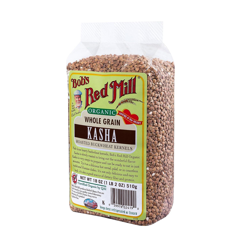 De Bob Red Mill Kasha/toasted de trigo sarraceno orgánico ...