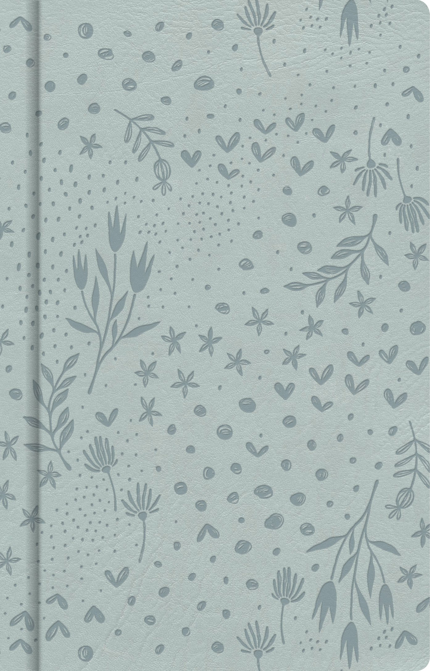Pale Blue Floral Journal B H Editorial Staff 9781535914697