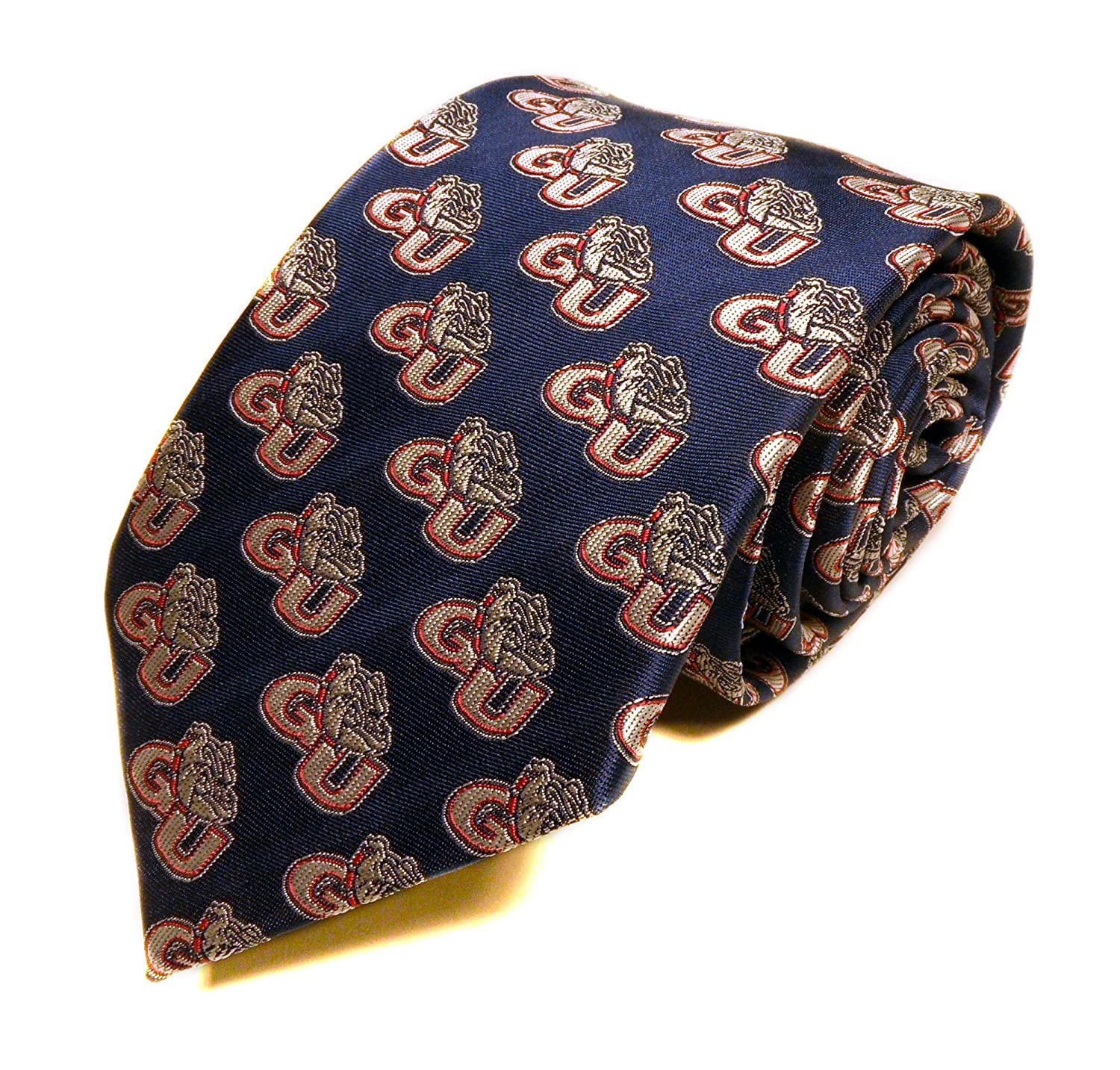 Blue One Size Donegal Bay NCAA Gonzaga Bulldogs Repeating Tie