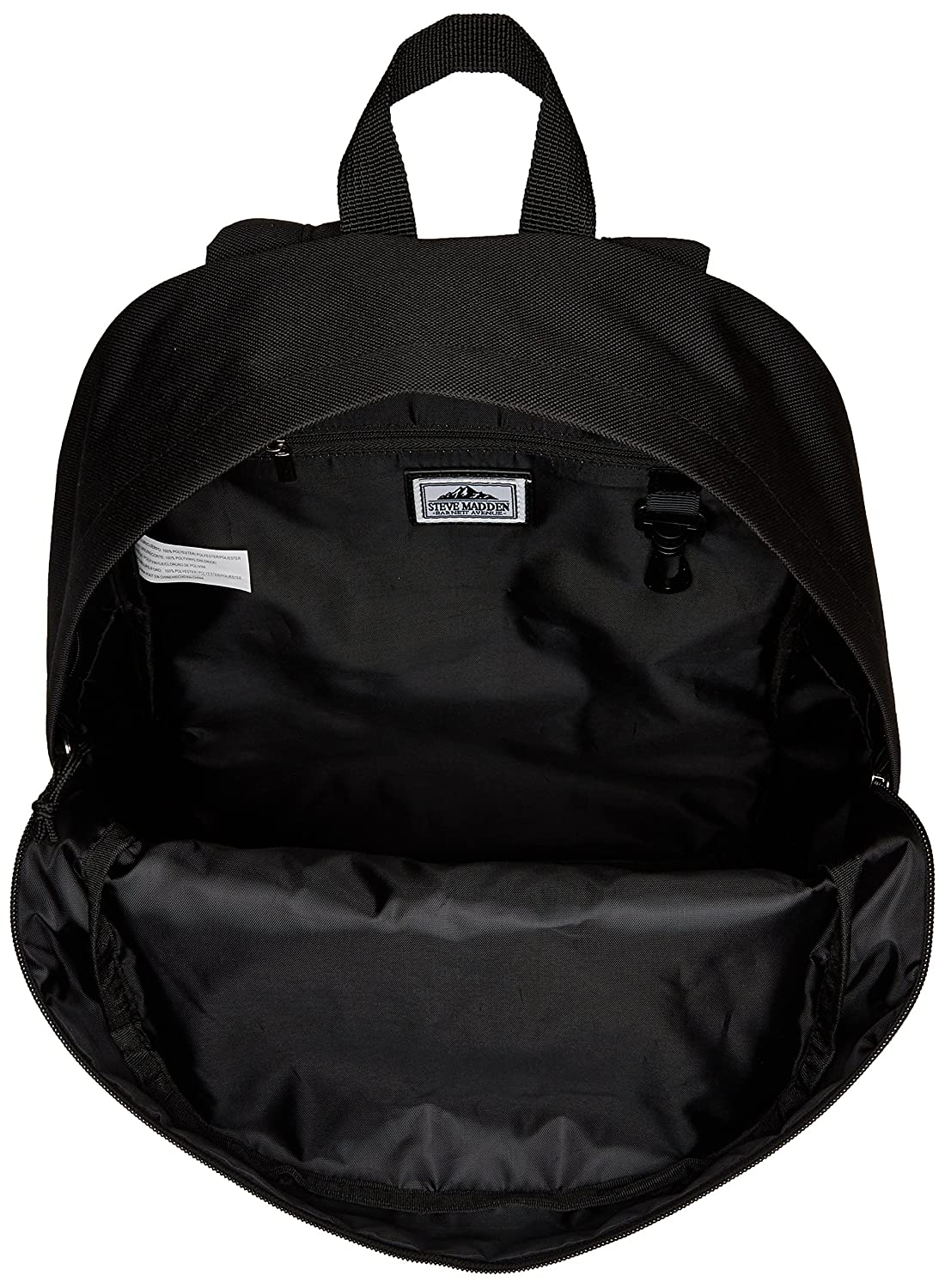 87f70be738f Amazon.com: Steve Madden Men's Classic Backpack, black check, One Size:  Clothing