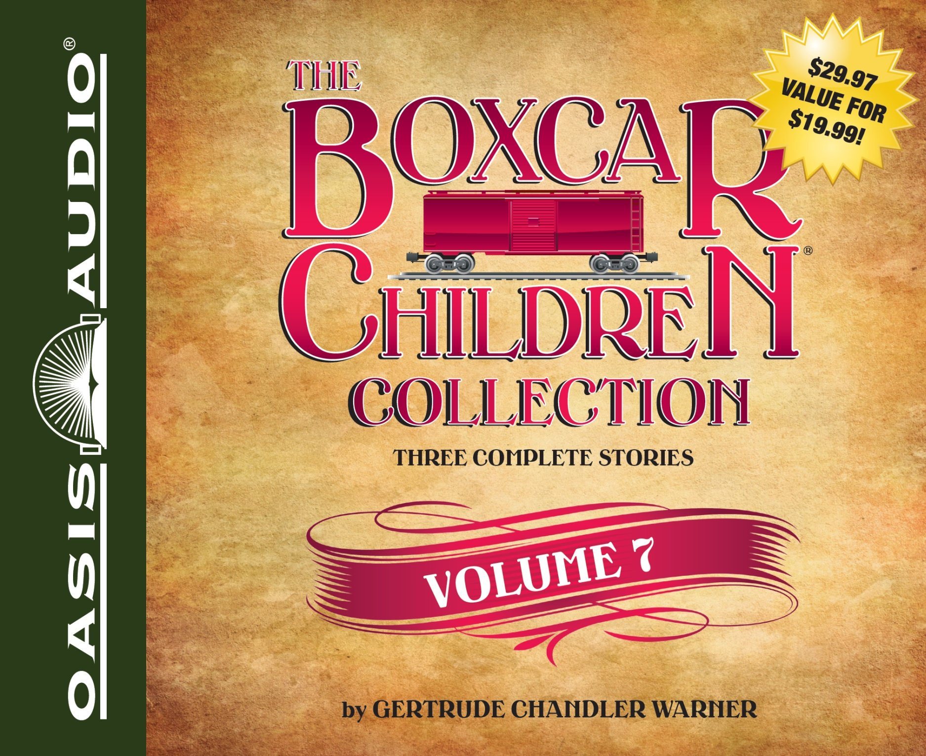 Download The Boxcar Children Collection Volume 7: Benny Uncovers a Mystery, The Haunted Cabin Mystery, The Deserted Library Mystery (Boxcar Children Mysteries) pdf epub