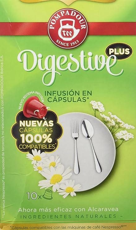 Pompadour Infusión Digestive Plus En Cápsulas - 10 Unidades
