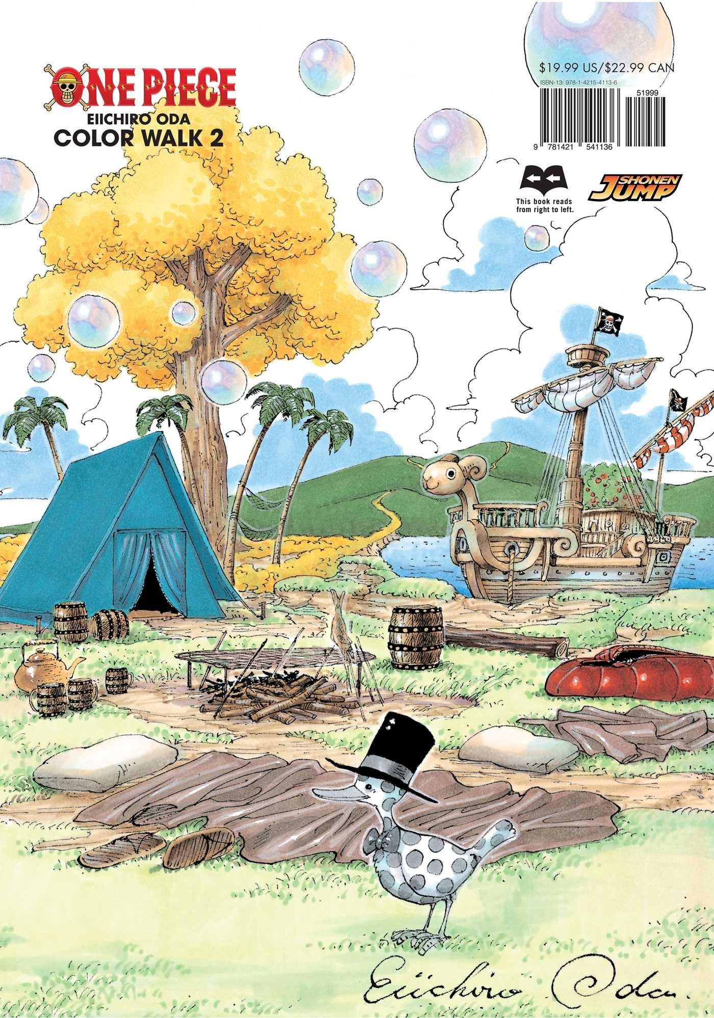 Art color book - One Piece Color Walk Art Book Vol 2 Eiichiro Oda 9781421541136 Amazon Com Books