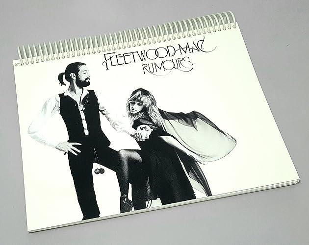amazon com fleetwood mac rumours vinyl album cover notebook