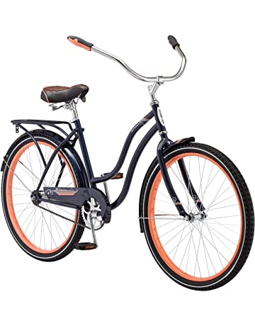 a1238ad0d66 Schwinn Baywood Cruiser Bike Line, Featuring Steel Step-Through Frame and  Single-Speed