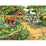 Home at the End of the Day 300 Piece Jigsaw Puzzle by SunsOut