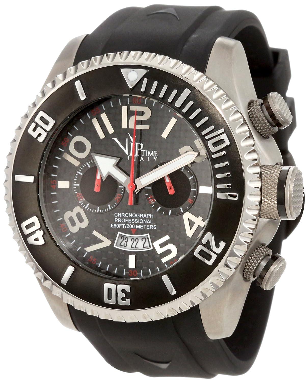 50 Vp5040bk Japanischem Time Uhr Vip Man Quarzuhrwerk bk Mit Italy 1J3TKcuFl
