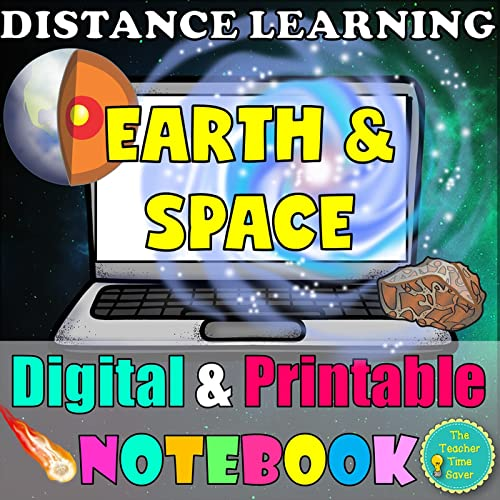 Earth And Space Interactive Notebook Digital And Printable Science