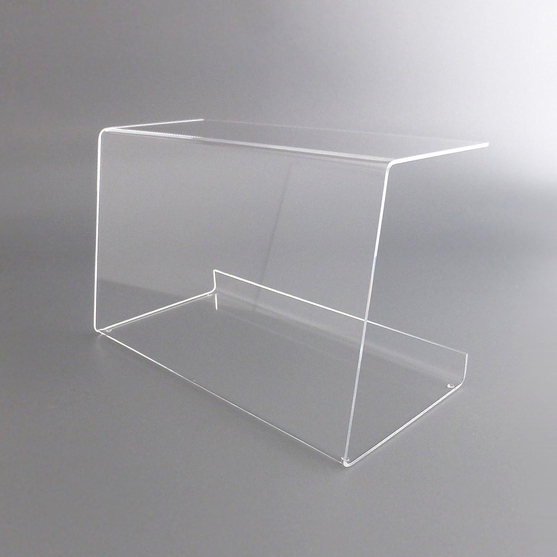 Mampara de protección de metacrilato para hostelería en cristal acrílico o Plexiglas ® (50cm x 29,5 cm x 23,5 cm)