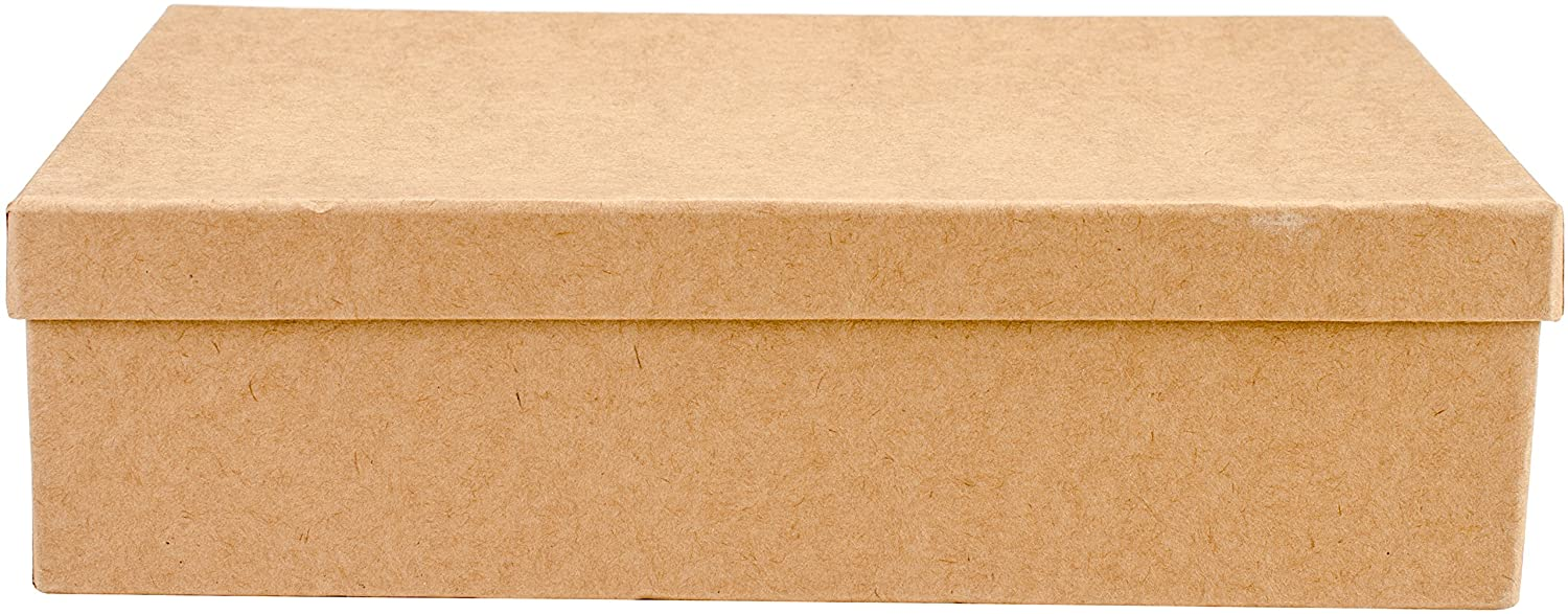 Art Alternatives MVPM06204 Paper-Mache Rectangle Box Set 5//Pkg